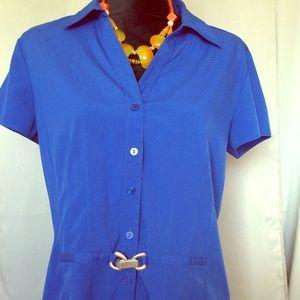 Style& Company short sleeve blouse size 14